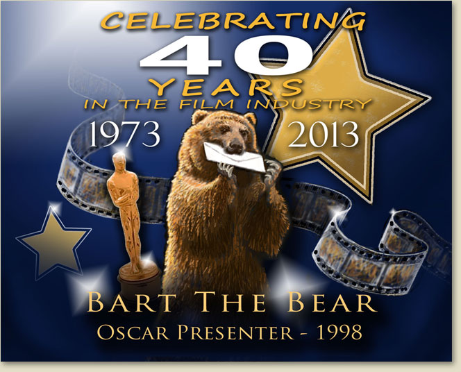 Bart the Bear - Wasatch Rocky Mountain Wildlife - Celebrating 40 years
